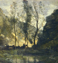 Corot Jean Baptiste Camille LES CONTREBANDIERS