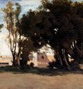 Corot Jean Baptiste camille Rome Le Colisee Vu Des Jardins Farnese