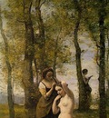 Corot Le Toilette aka Landscape with Figures