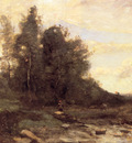 Corot Le torrent pierreaux