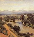 Corot The Augustan Bridge at Narni