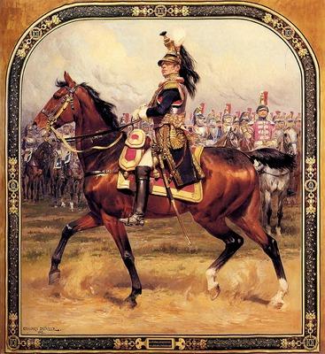 Detaille Edouard Le General D Hautpoul A Cheval