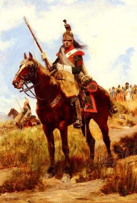 Detaille Jean Baptiste Edouard Artilleur A Cheval