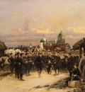 Deataille Edouard Chorus Of The Fourth Infantry Battalion At Tsarkoe Selo
