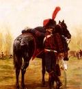 Detaille Jean Baptiste Edouard Le Dragon D Espagne