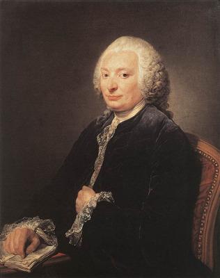 GREUZE Jean Baptiste Portrait of George Gougenot de Croissy