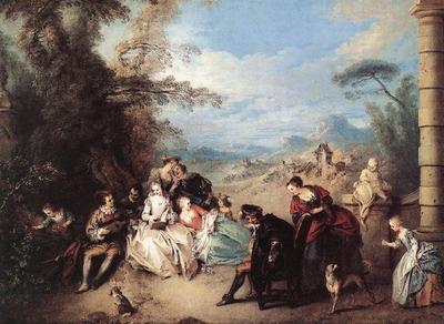 PATER Jean Baptiste Joseph Concert Champetre