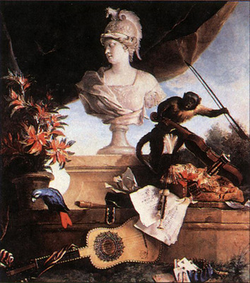 OUDRY Jean Baptiste Allegory Of Europe