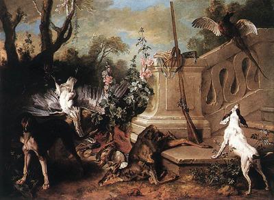 OUDRY Jean Baptiste Dead Roe