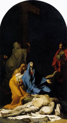 REGNAULT Jean Baptiste The Descent From The Cross