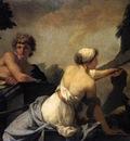 REGNAULT Jean Baptiste The Origin Of Painting Dibutades Tracing The Portrait Of A Shepherd