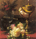 Robie Jean Baptiste A Bouquet Of Roses And Other Flowers
