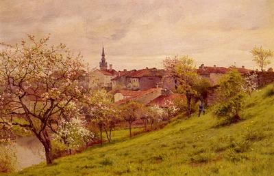 Monchablon Jean Ferdinand Le Printemps Amiens