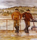 Raffaelli Jean Francois Fishermen at Jersey