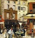 Raffaelli Jean Francois Rue de Montmartre