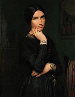 Flandrin Hippolyte Madame Hippolyte Flandrin