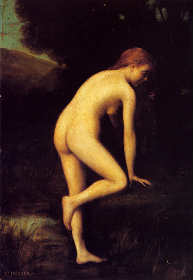 Henner Jean Jacques The Bather