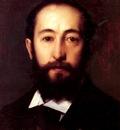 Henner Jean Jacques Portrait D Homme
