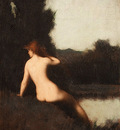 henner jean jacques a bather