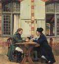 The Card Players 1872 15 75x12in
