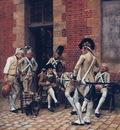 The Sergeants Portrait 1874 73x62cm