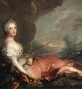 NATTIER Jean Marc Marie Adelaide Of France As Diana