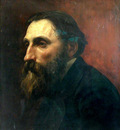 Laurens Jean Paul Portrait de Rodin