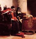 Le Pape et lInquisiteur dit aussie Sixte IV et Toruemada