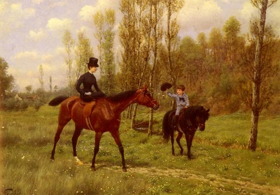 Goubie Jean Richard The Morning Ride
