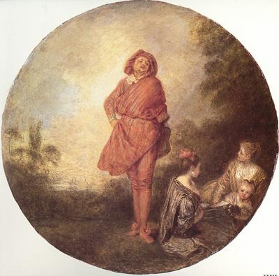 Watteau L Orgueilleux
