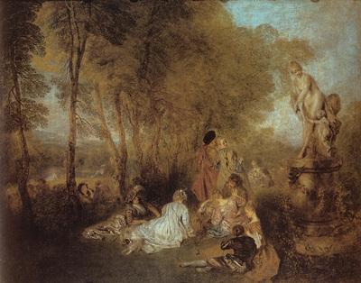 Watteau La Fete d amour