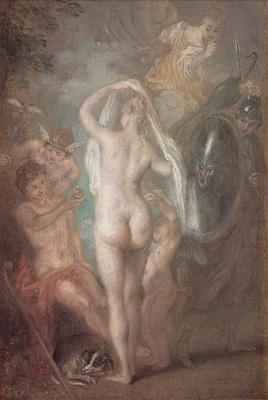 Watteau Le Jugement de Paris