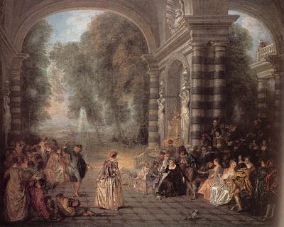 Watteau Les Plaisirs du bal