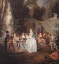Watteau Les Fetes venitiennes
