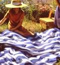 Larson Jeffrey 2001 Picnic Blanket 30by40in