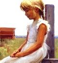 Larson Jeffrey 2001 Summer Daydreams 12by16in
