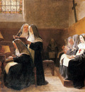 Vibert Jean Georges The Convent Choir