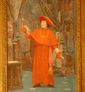 Vibert Jehan Georges Cardinal Reading a Letter