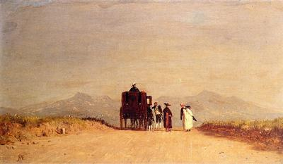 McEntee Jervis A Journey s Pause in the Roman Campagna