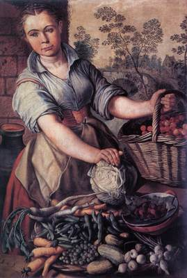 BEUCKELAER Joachim Vegetable Seller