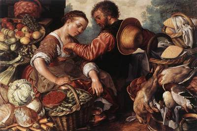 BEUCKELAER Joachim Woman Selling Vegetables