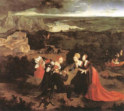 PATENIER Joachim Temptation Of St Anthony