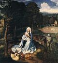PATENIER Joachim Rest During The Flight To Egypt