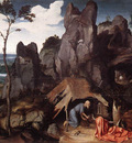 PATENIER Joachim St Jerome In The Desert