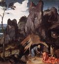 PATENIER Joachim St Jerome In The Desert