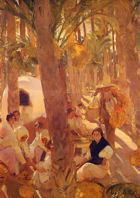 Sorolla Joaquin El Palmeral