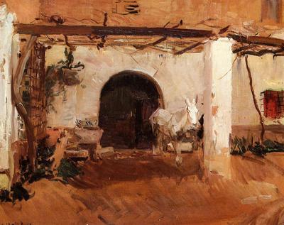 Sorolla y Bastida Joaquin Casa de Huerta Valencia study