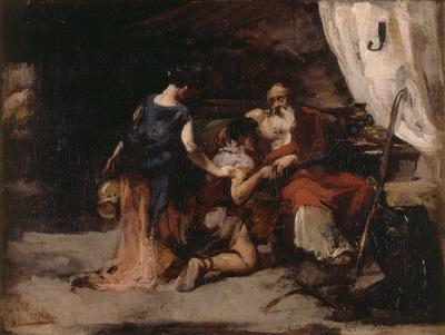 Sorolla y Bastida Joaquin La bendicion de Isaac