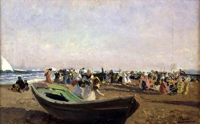 Sorolla y Bastida Joaquin Playa de Valencia  Pescadoras