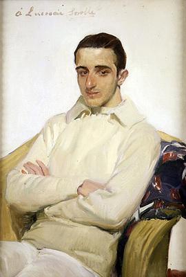 Sorolla y Bastida Joaquin Retrato de Jose Luis Benlliure Lopez de Arana